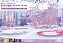 International Consumer Goods Show fuarı planı